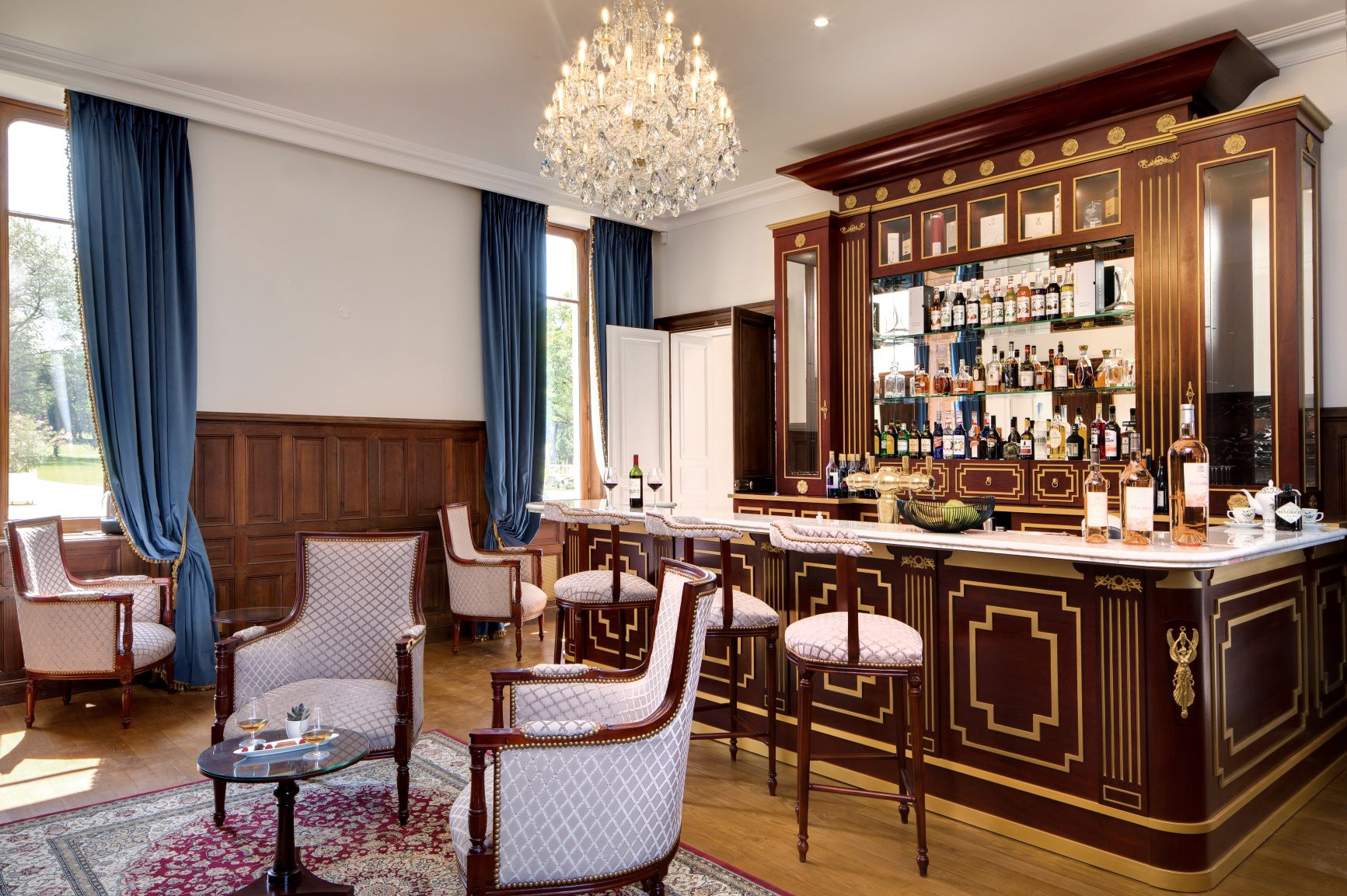 Hôtel Alexandra Palace ***** | Luxury Hotel France | Bar Lounge